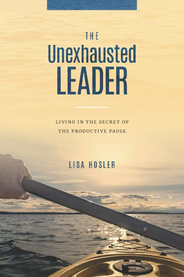 The Unexhausted Leader Book Cover